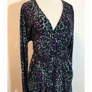 BCBGMaxAzria Dresses - BCBGMaxAzria leopard print dress